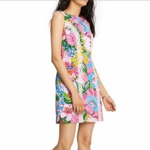 LILLY PULITZER FOR TARGET NOSEY POSEY SHIFT DRESS